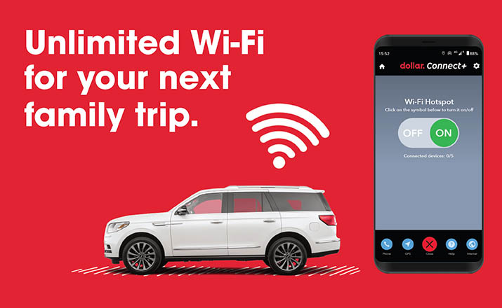 Unlimited Wi-Fi <br>for your next family trip